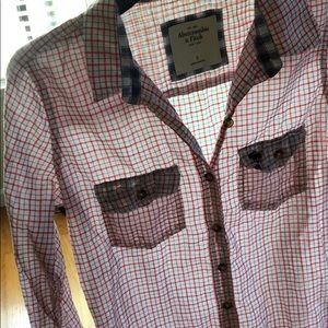 Abercrombie & Fitch lightweight shirt Size S
